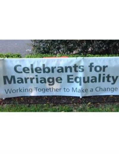 Celebrants for Marriage equality